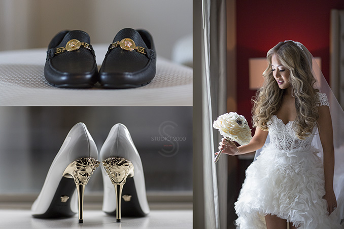 Versace shoes Wedding